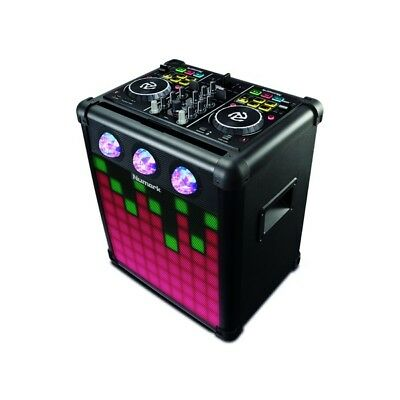 Numark Party Mix Pro DJ Controller & Bluetooth Battery Powered Portable Speaker