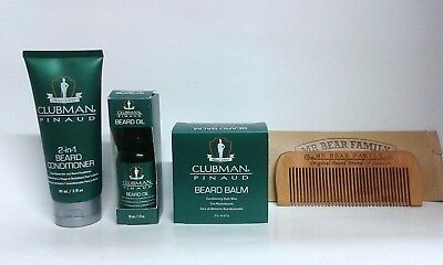 Kit Barba Clubman Pineaud + Pettine Barba Mr. Bear Family
