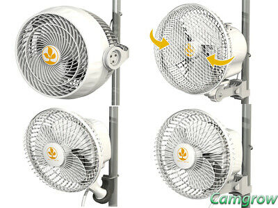 Secret Jardin Monkey Clip On Fan Pole Mounted - 13W  - 20W  Oscillating - 30w