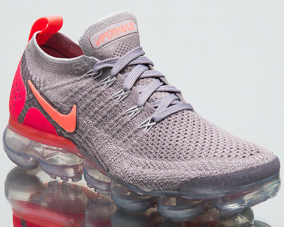promo code bee47 24e8c NIKE WMNS AIR VaporMax Flyknit 2 Women Atmosphere Grey Crimson Pulse  942843-005