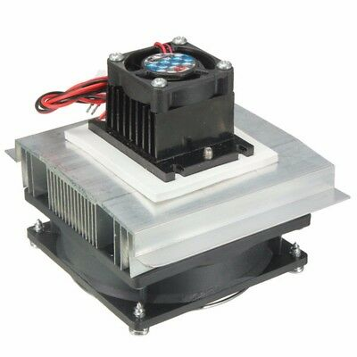 Thermoelectric Peltier Refrigeration Rapid Semicon Cooling System Cooler Fan AU