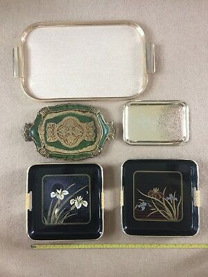 Collection Of Vintage / Retro & Other Trays - Suit Display ? Prop ? No Reserve
