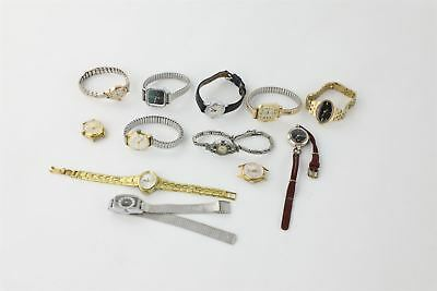 Lot of 12 x Vintage Hand-Wind Wristwatches WORKING inc Everite etc 232g