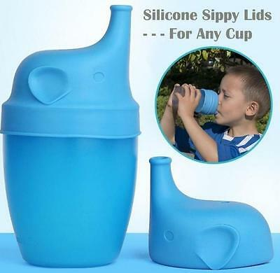 Safety For Kids Silicone Sippy Lids - Make Most Cups a Sippy Cup Leak Proof 2018