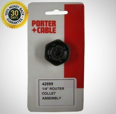 PORTER-CABLE 1/4-Inch Self Releasing Collet Helps Decrease Amount Of Lost Bits