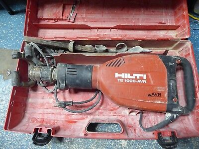 Hilti te-1000 avr Breaker Hammer Electric Demolition te1000 te1500 1000 1500 **