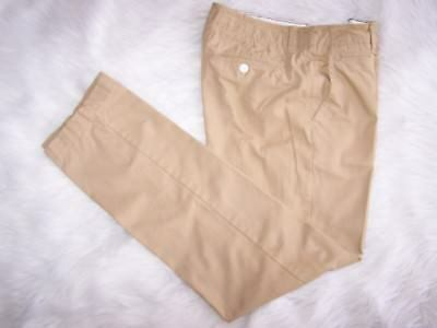 Mens American Eagle Outfitters Gold Original Straight  Pants Chinos 32X34 EUC