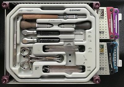 DEPUY SYNTHES MODULAR HAND SYSTEM 2 Trauma Orthopedic Surgical Complete Set Lot