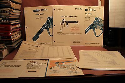 REH Spray Gun 130CB SM-8797  Service Operation & Maintenance Manuals