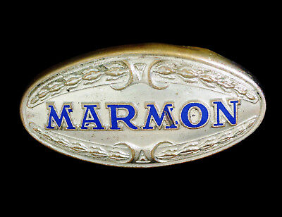 1927 1928 1929 1930 1926 1925 Marmon Brass Radiator Emblem Badge Vintage Antique