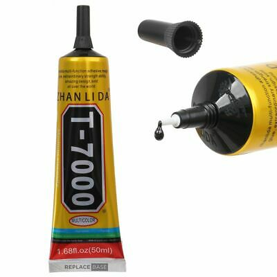 T7000 Contact Adhesive Glue For Craft Mobile Phone Tablet Laptop Black 50ML