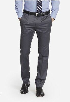 a1478dec90  98 Bonobos Weekday Warriors Dress Pants~ Friday Grays Grey~ Straight Fit~  34x32