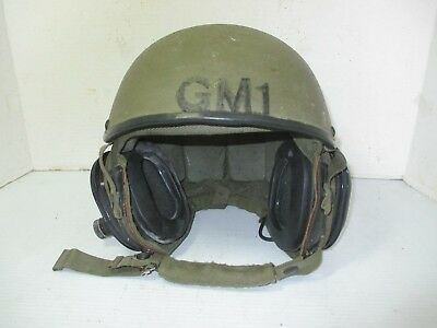Military Combat Vehicle Crewman Helmet with Ballistic Shell DH-132A Large Tank