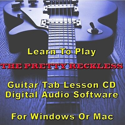 CURE (THE) GUITAR Tab Lesson CD Software - 105 Songs - $8.75 | PicClick