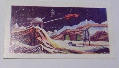 Moon Base #46 The Conquest Of Space Cigarette Card Cadet Sweets