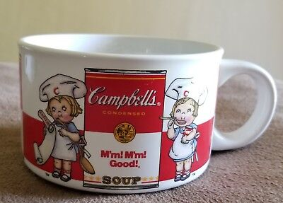 Vintage Campbell's Soup Mugs by Westwood 1997 Set of 4