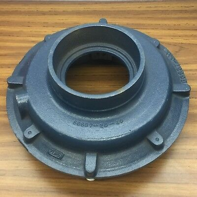 "Zurn 56625-001 - 56687-040, 12"" Cast Iron Low Silhouette Roof Drain 8""X5"""