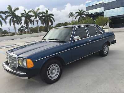 1985 Mercedes-Benz 300-Series 300D W123 Classic 1985 Mercedes 300D Turbodiesel Garage Kept Well Maintained Books/Records