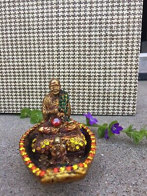 Antique Buddha Art/ Home blessing decoration 3x5x4 inches