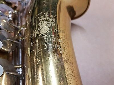 1976 KING 613 ALT / ALTO SAX / SAXOPHONE - made in USA