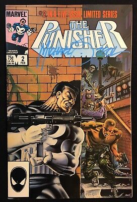 The Punisher 2 Vol 1 Limited Series (1985) Signed by Mike Zeck Netflix Bernthal