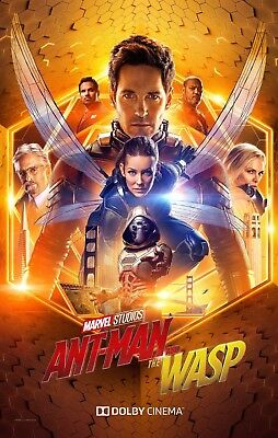 "Ant Man & the Wasp ( 11"" x 17"" ) Movie Collector's Poster Print (T3) - B2G1F"