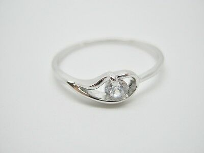 Womens Silver Plated Cubic Zirconia Rings, Non Tarnish Fashion Jewellery