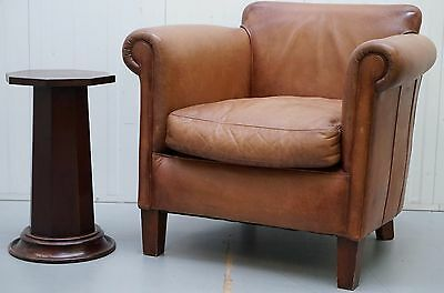 Lovely Mahogany Lamp, Side, End, Wine, Pedestal Table Great Size & Stylish Thing