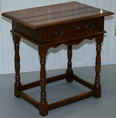 Stunning Rrp £899 Theodore Alexander Accent Butlers Large Side Lamp Wine Table