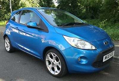 2010 Ford Ka 1.2 Zetec 3Dr - Only £30 Road Tax - 50,000 Miles
