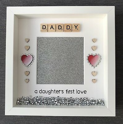 daddy daughter handmade photo frame daddy a daughters first love christmas gift