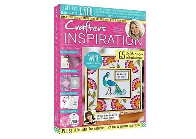 Crafters Companion : CRAFTER'S INSPIRATION #18 + £50 FREE GIFTS - NEW & UNOPENED
