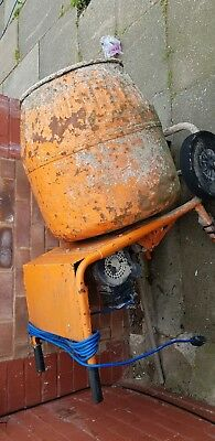 Used 240 volt cement mixer good working order