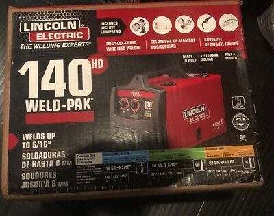 Lincoln Electric 140 Hd Weld-Pak