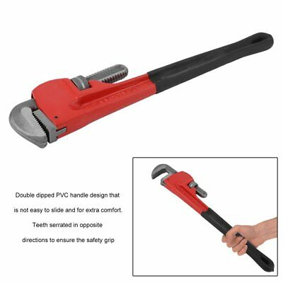 NEW 24 Inch Heavy Duty Adjustable Repair Tool Flexible Spanner Clamp Pipe Wrench