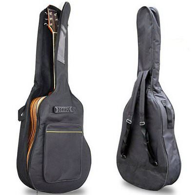 "41""black Padded Full Size Acoustic Classical Guitar Bag Case Cover High Quality"
