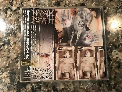 Napalm Death Enemy Of The Music Business Cd! Japanese Pressing!