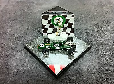 Dennis Hulme 1967 F1 World Champion Brabham Repco BT24 Quartzo 1/43