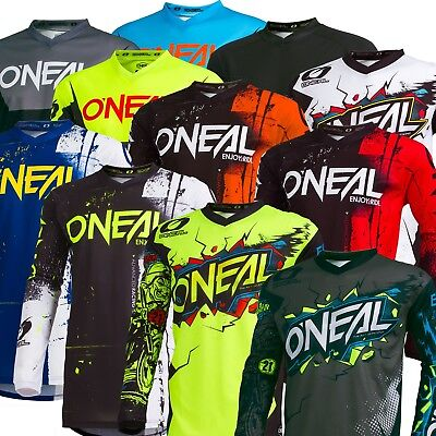 Oneal Element Adult MX Motorbike Jersey Shirt Top 2019 PLUS SIZE 3XL-4XL