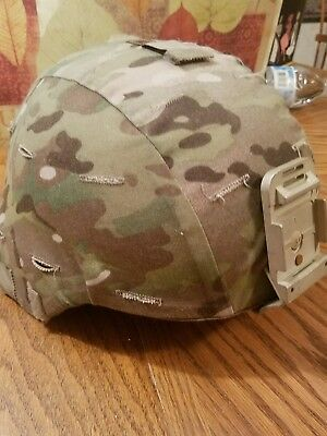 Ceradyne ECH Enhanced Combat Helmet LARGE  W/OPS CORE H-Nape chin strap S-XL NVG