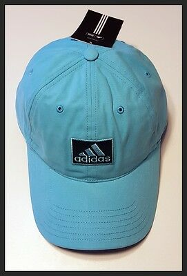 Adidas Adjustable Golf Cap - Light Blue - Brand New - New With Tags
