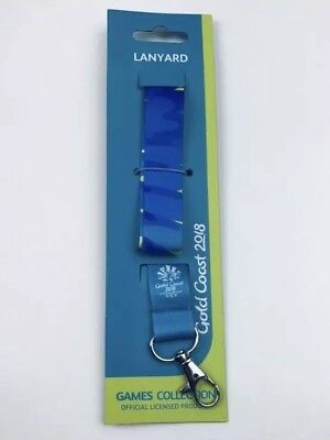 Gold Coast 2018 Commonwealth Games Lanyard Games Collection Official GC2018