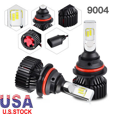 Super Bright 16000LM 9004 HB1 LED Headlight Bulb Hi/Low Beam Lamp Convertion Kit