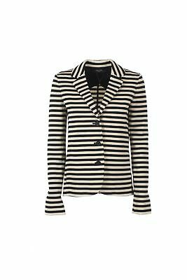 MAX MARA WEEKEND giacca giubbotto pelle 44 jacket blazer leather ... d8d6e7f416f