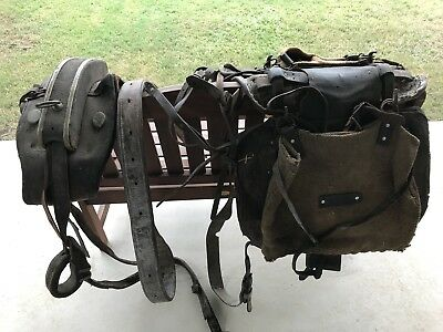 horse pack saddles