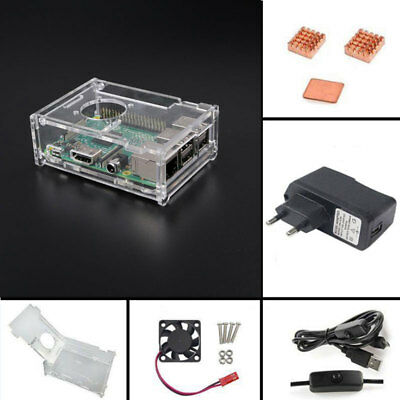 Starter Kit Set Suite For Raspberry Pi 3 Model B 1GB RAM Quad Core 1.2GHz CPU!