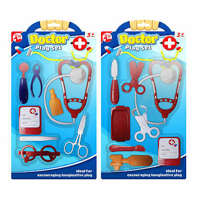 2pk Doctor Play Set | Medical Pretend Role Play Kit | Educational Doctor Kit
