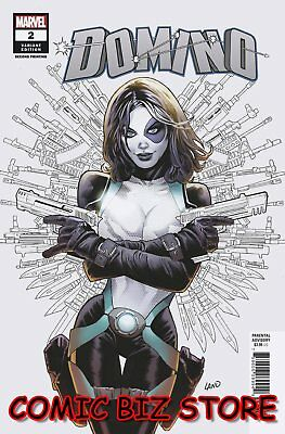 Domino #2 (2018) 2Nd Printing Land Variant Cover Marvel Comics