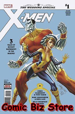 X-Men Wedding Special #1 (2018) 2Nd Printing Js Campbell Variant Cover Marvel