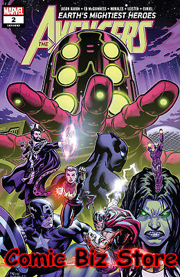 Avengers #2 (2018) 1St Printing Main Cover Marvel Comics Bagged & Boarded